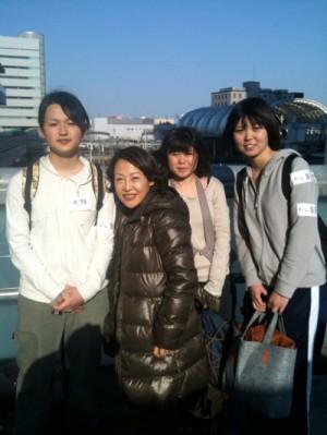 埼玉アリーナでボランティア