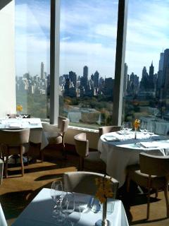 眺めのいいレストラン